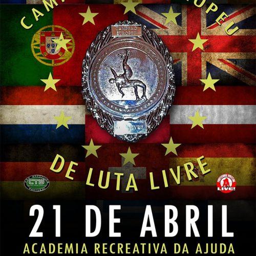 Bilhete Normal CTW Campeonato Europeu de Luta Livre